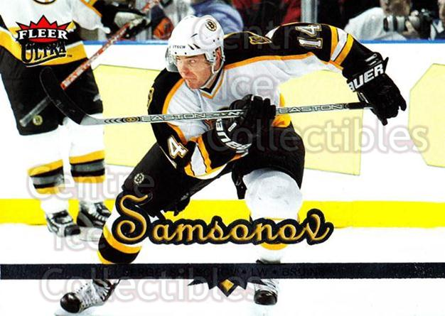 2005-06 Ultra #21 Sergei Samsonov<br/>10 In Stock - $1.00 each - <a href=https://centericecollectibles.foxycart.com/cart?name=2005-06%20Ultra%20%2321%20Sergei%20Samsonov...&quantity_max=10&price=$1.00&code=128827 class=foxycart> Buy it now! </a>