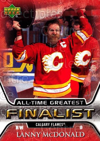 2005-06 Upper Deck All-Time Greatest #10 Lanny McDonald<br/>2 In Stock - $2.00 each - <a href=https://centericecollectibles.foxycart.com/cart?name=2005-06%20Upper%20Deck%20All-Time%20Greatest%20%2310%20Lanny%20McDonald...&quantity_max=2&price=$2.00&code=128855 class=foxycart> Buy it now! </a>
