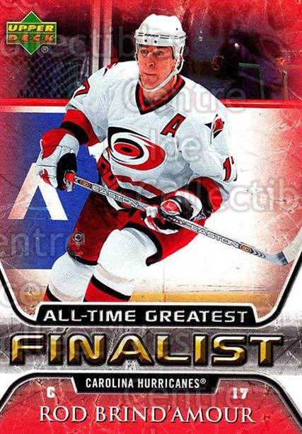 2005-06 Upper Deck All-Time Greatest #11 Rod Brind'Amour<br/>5 In Stock - $2.00 each - <a href=https://centericecollectibles.foxycart.com/cart?name=2005-06%20Upper%20Deck%20All-Time%20Greatest%20%2311%20Rod%20Brind'Amour...&quantity_max=5&price=$2.00&code=128856 class=foxycart> Buy it now! </a>