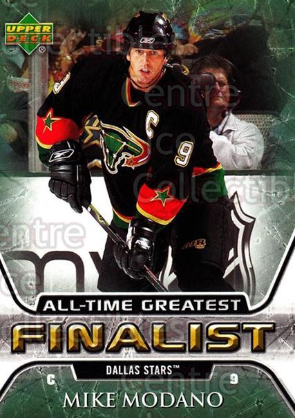 2005-06 Upper Deck All-Time Greatest #19 Mike Modano<br/>11 In Stock - $2.00 each - <a href=https://centericecollectibles.foxycart.com/cart?name=2005-06%20Upper%20Deck%20All-Time%20Greatest%20%2319%20Mike%20Modano...&quantity_max=11&price=$2.00&code=128862 class=foxycart> Buy it now! </a>