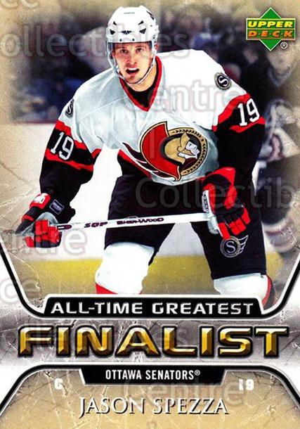 2005-06 Upper Deck All-Time Greatest #42 Jason Spezza<br/>4 In Stock - $2.00 each - <a href=https://centericecollectibles.foxycart.com/cart?name=2005-06%20Upper%20Deck%20All-Time%20Greatest%20%2342%20Jason%20Spezza...&quantity_max=4&price=$2.00&code=128880 class=foxycart> Buy it now! </a>