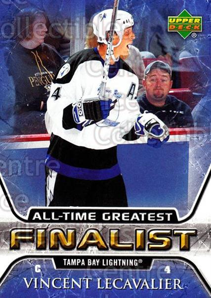 2005-06 Upper Deck All-Time Greatest #54 Vincent Lecavalier<br/>8 In Stock - $2.00 each - <a href=https://centericecollectibles.foxycart.com/cart?name=2005-06%20Upper%20Deck%20All-Time%20Greatest%20%2354%20Vincent%20Lecaval...&quantity_max=8&price=$2.00&code=128891 class=foxycart> Buy it now! </a>
