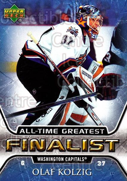 2005-06 Upper Deck All-Time Greatest #59 Olaf Kolzig<br/>5 In Stock - $2.00 each - <a href=https://centericecollectibles.foxycart.com/cart?name=2005-06%20Upper%20Deck%20All-Time%20Greatest%20%2359%20Olaf%20Kolzig...&quantity_max=5&price=$2.00&code=128896 class=foxycart> Buy it now! </a>