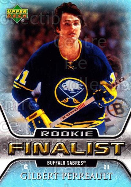 2005-06 Upper Deck All-Time Greatest #64 Gilbert Perreault<br/>4 In Stock - $2.00 each - <a href=https://centericecollectibles.foxycart.com/cart?name=2005-06%20Upper%20Deck%20All-Time%20Greatest%20%2364%20Gilbert%20Perreau...&quantity_max=4&price=$2.00&code=128901 class=foxycart> Buy it now! </a>