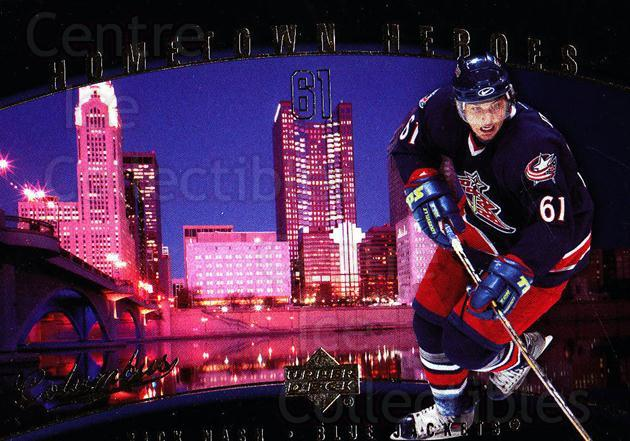 2005-06 Upper Deck Hometown Heroes #18 Rick Nash<br/>6 In Stock - $2.00 each - <a href=https://centericecollectibles.foxycart.com/cart?name=2005-06%20Upper%20Deck%20Hometown%20Heroes%20%2318%20Rick%20Nash...&quantity_max=6&price=$2.00&code=128929 class=foxycart> Buy it now! </a>