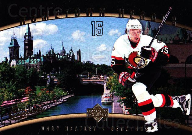 2005-06 Upper Deck Hometown Heroes #26 Dany Heatley<br/>6 In Stock - $2.00 each - <a href=https://centericecollectibles.foxycart.com/cart?name=2005-06%20Upper%20Deck%20Hometown%20Heroes%20%2326%20Dany%20Heatley...&quantity_max=6&price=$2.00&code=128936 class=foxycart> Buy it now! </a>