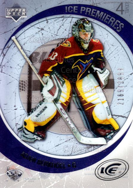 2005-06 UD Ice #144 Adam Berkhoel<br/>2 In Stock - $3.00 each - <a href=https://centericecollectibles.foxycart.com/cart?name=2005-06%20UD%20Ice%20%23144%20Adam%20Berkhoel...&quantity_max=2&price=$3.00&code=128958 class=foxycart> Buy it now! </a>