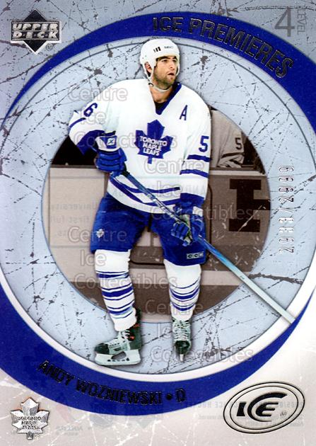 2005-06 UD Ice #172 Andy Wozniewski<br/>3 In Stock - $3.00 each - <a href=https://centericecollectibles.foxycart.com/cart?name=2005-06%20UD%20Ice%20%23172%20Andy%20Wozniewski...&quantity_max=3&price=$3.00&code=128985 class=foxycart> Buy it now! </a>