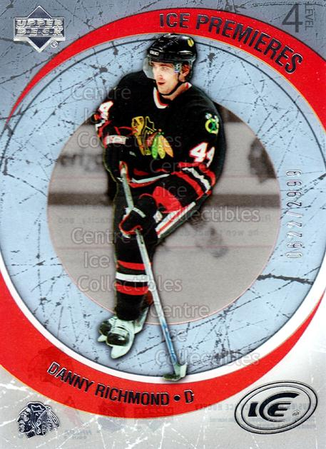 2005-06 UD Ice #189 Danny Richmond<br/>2 In Stock - $3.00 each - <a href=https://centericecollectibles.foxycart.com/cart?name=2005-06%20UD%20Ice%20%23189%20Danny%20Richmond...&quantity_max=2&price=$3.00&code=128999 class=foxycart> Buy it now! </a>