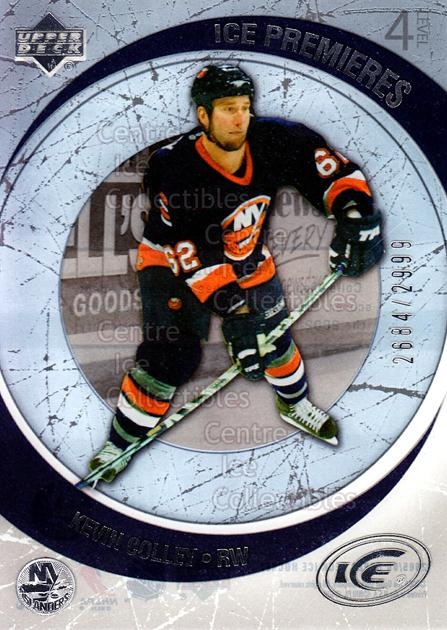 2005-06 UD Ice #202 Kevin Colley<br/>3 In Stock - $3.00 each - <a href=https://centericecollectibles.foxycart.com/cart?name=2005-06%20UD%20Ice%20%23202%20Kevin%20Colley...&quantity_max=3&price=$3.00&code=129009 class=foxycart> Buy it now! </a>