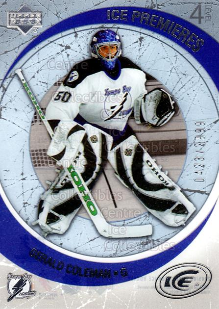 2005-06 UD Ice #209 Gerald Coleman<br/>8 In Stock - $3.00 each - <a href=https://centericecollectibles.foxycart.com/cart?name=2005-06%20UD%20Ice%20%23209%20Gerald%20Coleman...&quantity_max=8&price=$3.00&code=129015 class=foxycart> Buy it now! </a>