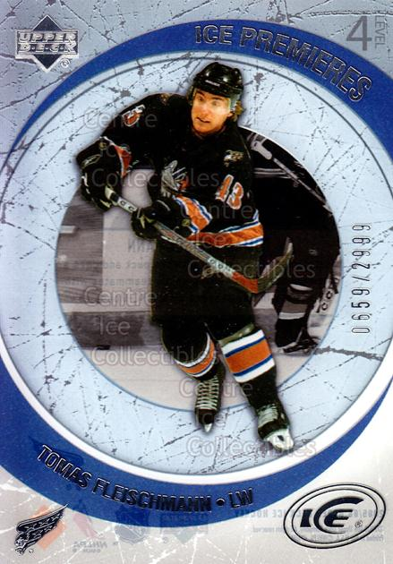2005-06 UD Ice #210 Tomas Fleischmann<br/>3 In Stock - $3.00 each - <a href=https://centericecollectibles.foxycart.com/cart?name=2005-06%20UD%20Ice%20%23210%20Tomas%20Fleischma...&quantity_max=3&price=$3.00&code=129017 class=foxycart> Buy it now! </a>