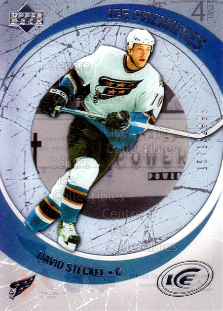 2005-06 UD Ice #236 David Steckel<br/>2 In Stock - $3.00 each - <a href=https://centericecollectibles.foxycart.com/cart?name=2005-06%20UD%20Ice%20%23236%20David%20Steckel...&quantity_max=2&price=$3.00&code=129036 class=foxycart> Buy it now! </a>