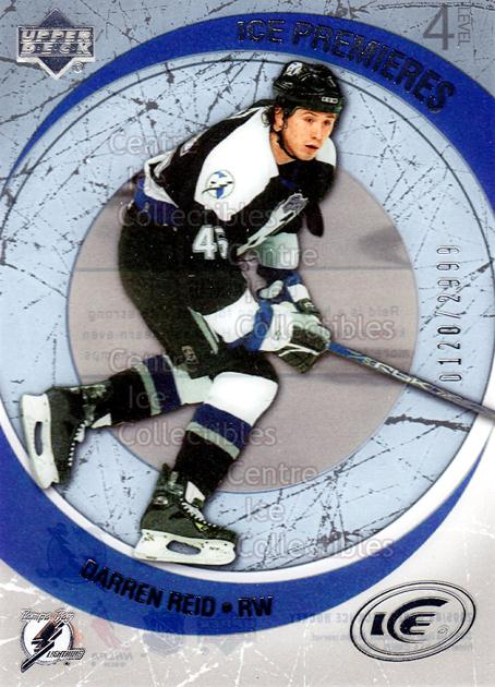 2005-06 UD Ice #245 Darren Reid<br/>4 In Stock - $3.00 each - <a href=https://centericecollectibles.foxycart.com/cart?name=2005-06%20UD%20Ice%20%23245%20Darren%20Reid...&quantity_max=4&price=$3.00&code=129039 class=foxycart> Buy it now! </a>