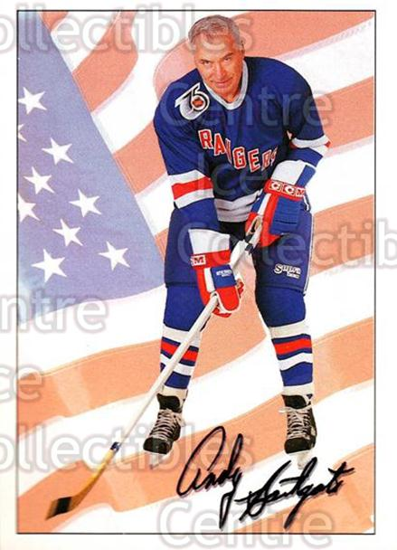 1991-92 Ultimate Original Six #74 Andy Bathgate<br/>9 In Stock - $1.00 each - <a href=https://centericecollectibles.foxycart.com/cart?name=1991-92%20Ultimate%20Original%20Six%20%2374%20Andy%20Bathgate...&quantity_max=9&price=$1.00&code=12903 class=foxycart> Buy it now! </a>