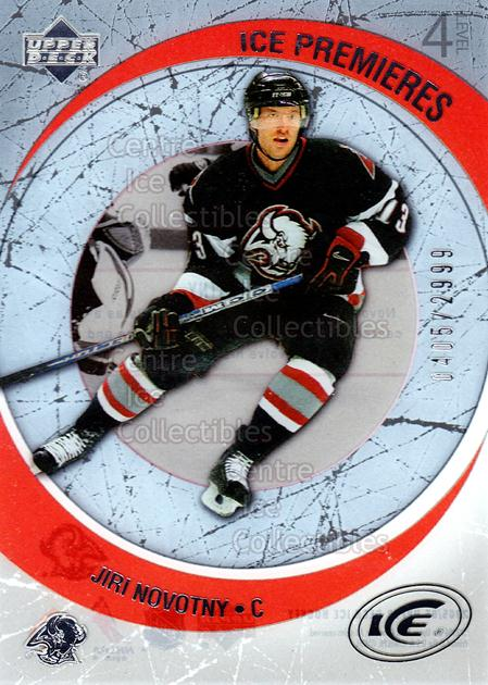 2005-06 UD Ice #255 Jiri Novotny<br/>4 In Stock - $3.00 each - <a href=https://centericecollectibles.foxycart.com/cart?name=2005-06%20UD%20Ice%20%23255%20Jiri%20Novotny...&quantity_max=4&price=$3.00&code=129044 class=foxycart> Buy it now! </a>
