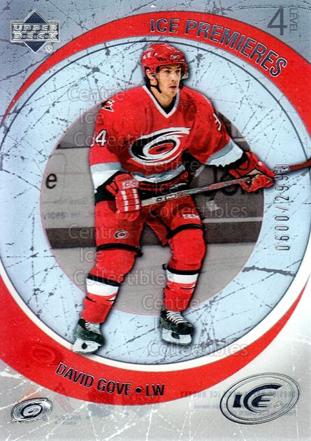 2005-06 UD Ice #267 David Gove<br/>9 In Stock - $3.00 each - <a href=https://centericecollectibles.foxycart.com/cart?name=2005-06%20UD%20Ice%20%23267%20David%20Gove...&quantity_max=9&price=$3.00&code=129053 class=foxycart> Buy it now! </a>