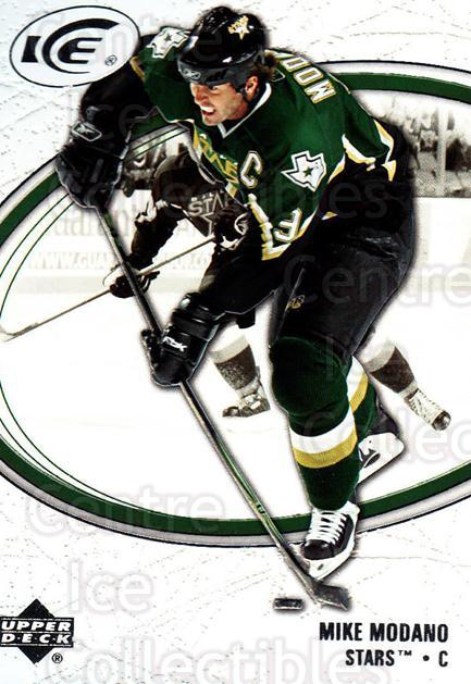 2005-06 UD Ice #28 Mike Modano<br/>4 In Stock - $2.00 each - <a href=https://centericecollectibles.foxycart.com/cart?name=2005-06%20UD%20Ice%20%2328%20Mike%20Modano...&quantity_max=4&price=$2.00&code=129056 class=foxycart> Buy it now! </a>