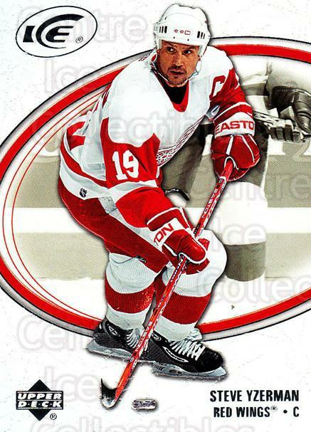 2005-06 UD Ice #31 Steve Yzerman<br/>2 In Stock - $2.00 each - <a href=https://centericecollectibles.foxycart.com/cart?name=2005-06%20UD%20Ice%20%2331%20Steve%20Yzerman...&quantity_max=2&price=$2.00&code=129060 class=foxycart> Buy it now! </a>