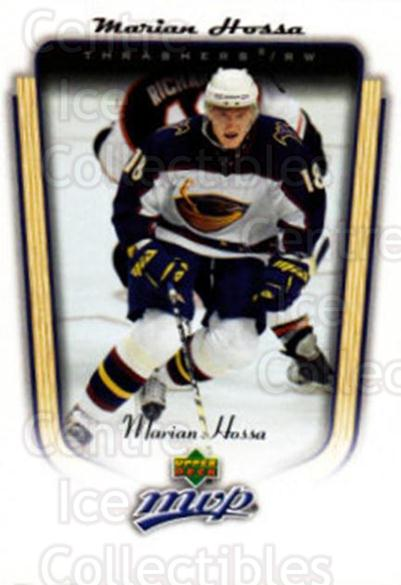 2005-06 Upper Deck MVP #13 Marian Hossa<br/>5 In Stock - $1.00 each - <a href=https://centericecollectibles.foxycart.com/cart?name=2005-06%20Upper%20Deck%20MVP%20%2313%20Marian%20Hossa...&quantity_max=5&price=$1.00&code=129126 class=foxycart> Buy it now! </a>