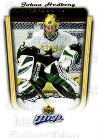2005-06 Upper Deck MVP #136 Johan Hedberg<br/>4 In Stock - $1.00 each - <a href=https://centericecollectibles.foxycart.com/cart?name=2005-06%20Upper%20Deck%20MVP%20%23136%20Johan%20Hedberg...&quantity_max=4&price=$1.00&code=129133 class=foxycart> Buy it now! </a>