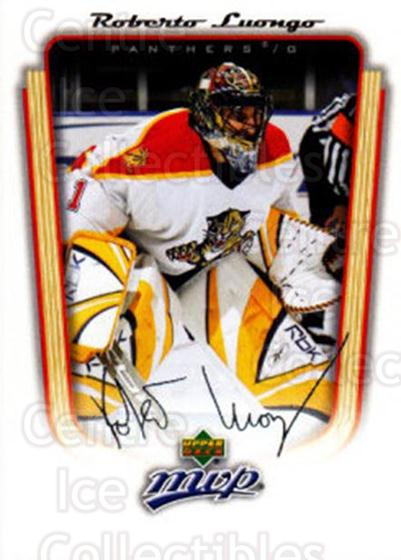 <a href=index.aspx?SetName=2005-06%20Upper%20Deck%20MVP>2005-06 Upper Deck MVP</a> #165 <a href=index.aspx?PlayerName=Roberto%20Luongo> Roberto Luongo</a><br/>5 in stock - $1.00 each - <a href=https://centericecollectibles.foxycart.com/cart?name=2005-06%20Upper%20Deck%20MVP%20%23165%20Roberto%20Luongo...&price=$1.00&code=129164 class=foxycart> Buy it now! </a>