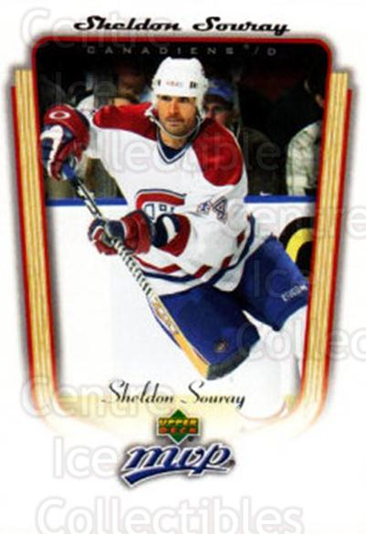 2005-06 Upper Deck MVP #210 Sheldon Souray<br/>4 In Stock - $1.00 each - <a href=https://centericecollectibles.foxycart.com/cart?name=2005-06%20Upper%20Deck%20MVP%20%23210%20Sheldon%20Souray...&quantity_max=4&price=$1.00&code=129204 class=foxycart> Buy it now! </a>