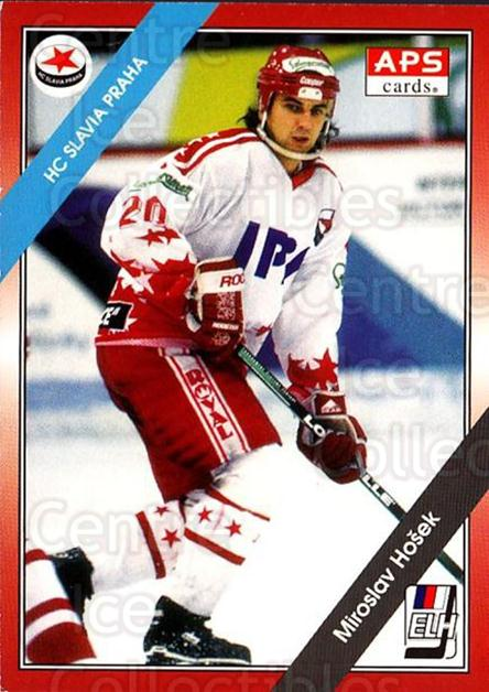 1994-95 Czech APS Extraliga #259 Miroslav Hosek<br/>4 In Stock - $2.00 each - <a href=https://centericecollectibles.foxycart.com/cart?name=1994-95%20Czech%20APS%20Extraliga%20%23259%20Miroslav%20Hosek...&quantity_max=4&price=$2.00&code=1292 class=foxycart> Buy it now! </a>