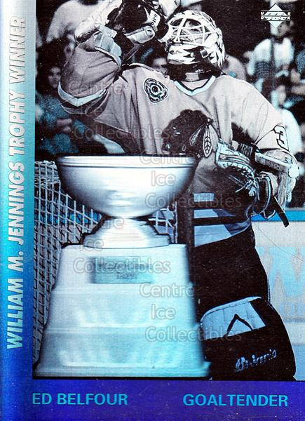 1991-92 Upper Deck Award Winner Holograms #2 Ed Belfour, Jennings Trophy<br/>18 In Stock - $1.00 each - <a href=https://centericecollectibles.foxycart.com/cart?name=1991-92%20Upper%20Deck%20Award%20Winner%20Holograms%20%232%20Ed%20Belfour,%20Jen...&quantity_max=18&price=$1.00&code=12931 class=foxycart> Buy it now! </a>