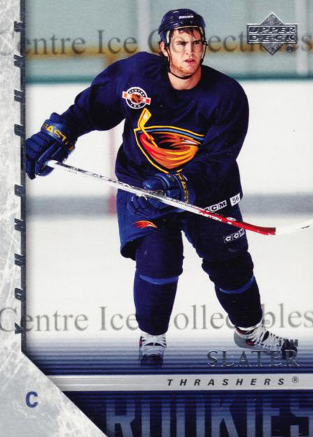 2005-06 Upper Deck #222 Jim Slater<br/>6 In Stock - $5.00 each - <a href=https://centericecollectibles.foxycart.com/cart?name=2005-06%20Upper%20Deck%20%23222%20Jim%20Slater...&quantity_max=6&price=$5.00&code=129498 class=foxycart> Buy it now! </a>