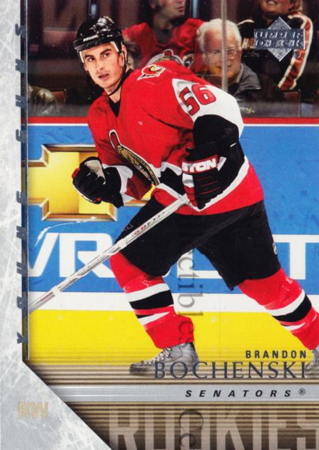 2005-06 Upper Deck #238 Brandon Bochenski<br/>2 In Stock - $5.00 each - <a href=https://centericecollectibles.foxycart.com/cart?name=2005-06%20Upper%20Deck%20%23238%20Brandon%20Bochens...&quantity_max=2&price=$5.00&code=129506 class=foxycart> Buy it now! </a>