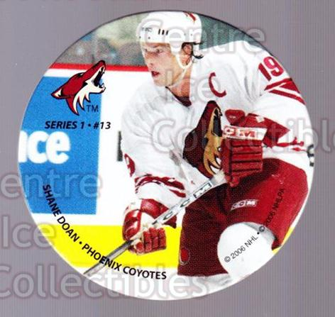 2006 NHL POG #13 Shane Doan<br/>7 In Stock - $2.00 each - <a href=https://centericecollectibles.foxycart.com/cart?name=2006%20NHL%20POG%20%2313%20Shane%20Doan...&quantity_max=7&price=$2.00&code=129580 class=foxycart> Buy it now! </a>
