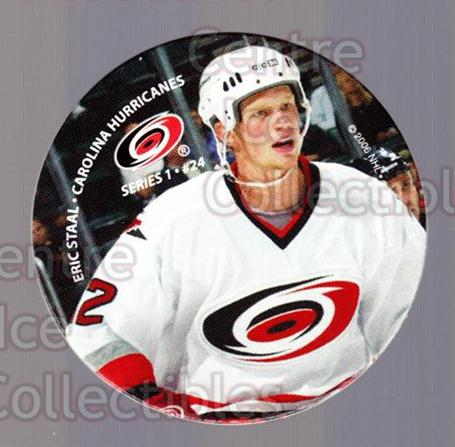 2006 NHL POG #24 Eric Staal<br/>8 In Stock - $2.00 each - <a href=https://centericecollectibles.foxycart.com/cart?name=2006%20NHL%20POG%20%2324%20Eric%20Staal...&quantity_max=8&price=$2.00&code=129591 class=foxycart> Buy it now! </a>