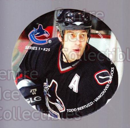 2006 NHL POG #25 Todd Bertuzzi<br/>9 In Stock - $2.00 each - <a href=https://centericecollectibles.foxycart.com/cart?name=2006%20NHL%20POG%20%2325%20Todd%20Bertuzzi...&quantity_max=9&price=$2.00&code=129592 class=foxycart> Buy it now! </a>