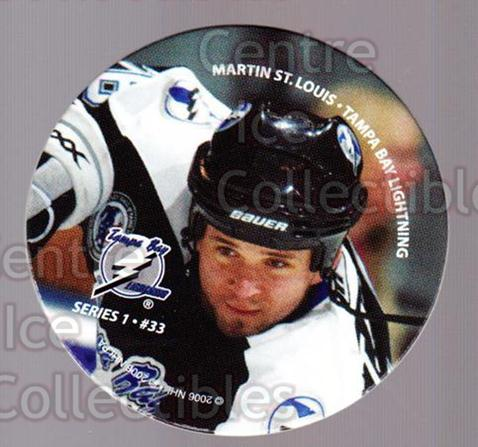 2006 NHL POG #33 Martin St. Louis<br/>6 In Stock - $2.00 each - <a href=https://centericecollectibles.foxycart.com/cart?name=2006%20NHL%20POG%20%2333%20Martin%20St.%20Loui...&quantity_max=6&price=$2.00&code=129597 class=foxycart> Buy it now! </a>