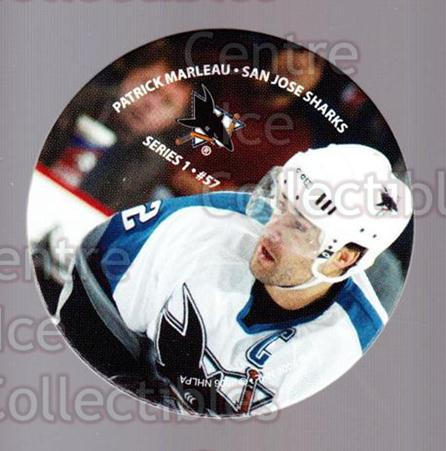 2006 NHL POG #57 Patrick Marleau<br/>7 In Stock - $2.00 each - <a href=https://centericecollectibles.foxycart.com/cart?name=2006%20NHL%20POG%20%2357%20Patrick%20Marleau...&quantity_max=7&price=$2.00&code=129618 class=foxycart> Buy it now! </a>
