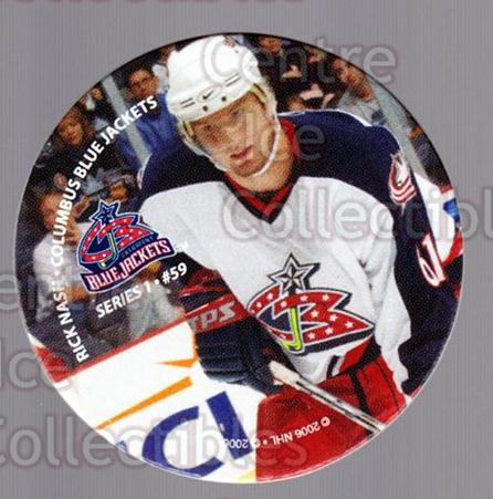 2006 NHL POG #59 Rick Nash<br/>4 In Stock - $2.00 each - <a href=https://centericecollectibles.foxycart.com/cart?name=2006%20NHL%20POG%20%2359%20Rick%20Nash...&quantity_max=4&price=$2.00&code=129620 class=foxycart> Buy it now! </a>