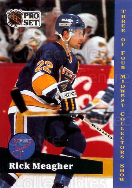 1991-92 Pro Set St. Louis Midwest #3 Rick Meagher<br/>6 In Stock - $3.00 each - <a href=https://centericecollectibles.foxycart.com/cart?name=1991-92%20Pro%20Set%20St.%20Louis%20Midwest%20%233%20Rick%20Meagher...&quantity_max=6&price=$3.00&code=12966 class=foxycart> Buy it now! </a>