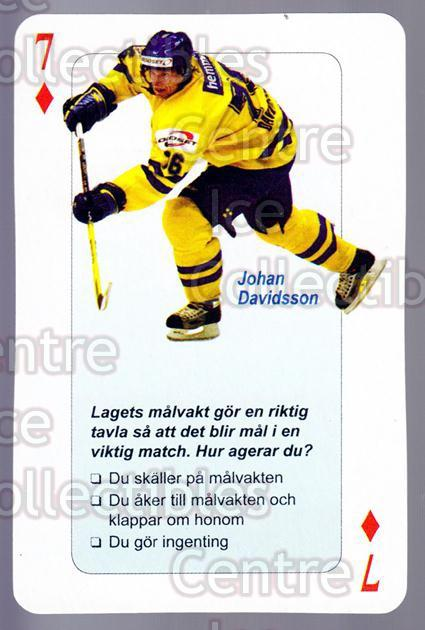 2006 Swedish Fair Play Respect Playing Card #22 Johan Davidsson<br/>3 In Stock - $2.00 each - <a href=https://centericecollectibles.foxycart.com/cart?name=2006%20Swedish%20Fair%20Play%20Respect%20Playing%20Card%20%2322%20Johan%20Davidsson...&quantity_max=3&price=$2.00&code=129674 class=foxycart> Buy it now! </a>