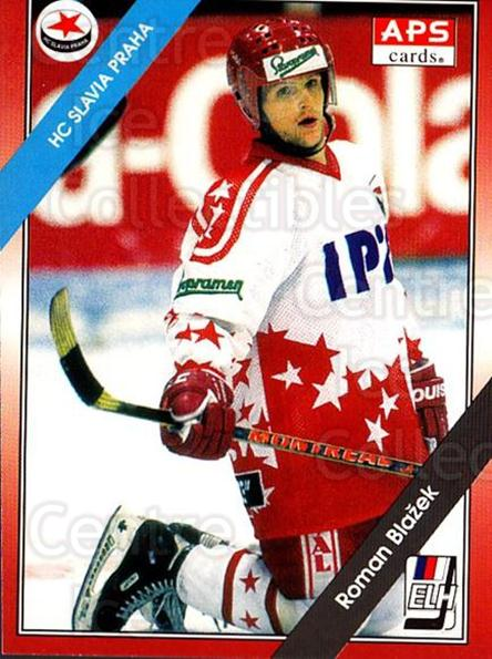 1994-95 Czech APS Extraliga #264 Roman Blazek<br/>2 In Stock - $2.00 each - <a href=https://centericecollectibles.foxycart.com/cart?name=1994-95%20Czech%20APS%20Extraliga%20%23264%20Roman%20Blazek...&quantity_max=2&price=$2.00&code=1297 class=foxycart> Buy it now! </a>