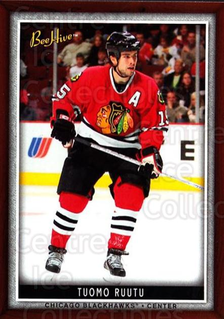 2006-07 Beehive #80 Tuomo Ruutu<br/>5 In Stock - $1.00 each - <a href=https://centericecollectibles.foxycart.com/cart?name=2006-07%20Beehive%20%2380%20Tuomo%20Ruutu...&quantity_max=5&price=$1.00&code=130143 class=foxycart> Buy it now! </a>