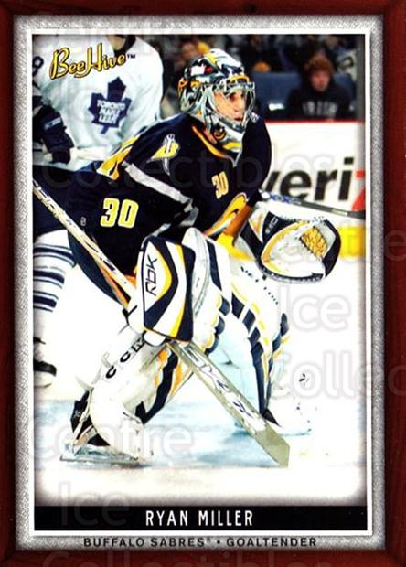2006-07 Beehive #90 Ryan Miller<br/>6 In Stock - $1.00 each - <a href=https://centericecollectibles.foxycart.com/cart?name=2006-07%20Beehive%20%2390%20Ryan%20Miller...&quantity_max=6&price=$1.00&code=130154 class=foxycart> Buy it now! </a>