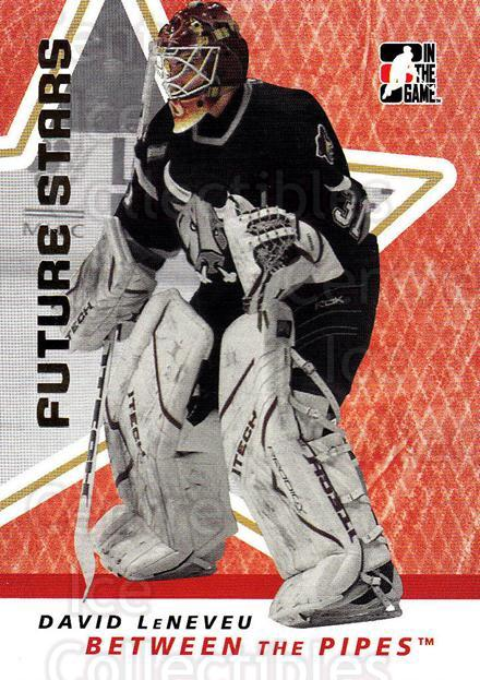 2006-07 Between The Pipes #12 David Leneveu<br/>4 In Stock - $1.00 each - <a href=https://centericecollectibles.foxycart.com/cart?name=2006-07%20Between%20The%20Pipes%20%2312%20David%20Leneveu...&price=$1.00&code=130185 class=foxycart> Buy it now! </a>