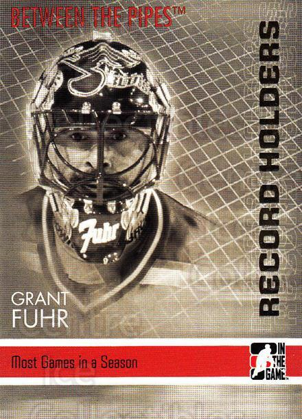 2006-07 Between The Pipes #148 Grant Fuhr<br/>6 In Stock - $1.00 each - <a href=https://centericecollectibles.foxycart.com/cart?name=2006-07%20Between%20The%20Pipes%20%23148%20Grant%20Fuhr...&price=$1.00&code=130212 class=foxycart> Buy it now! </a>