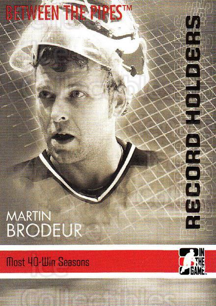 2006-07 Between The Pipes #149 Martin Brodeur<br/>5 In Stock - $2.00 each - <a href=https://centericecollectibles.foxycart.com/cart?name=2006-07%20Between%20The%20Pipes%20%23149%20Martin%20Brodeur...&price=$2.00&code=130213 class=foxycart> Buy it now! </a>