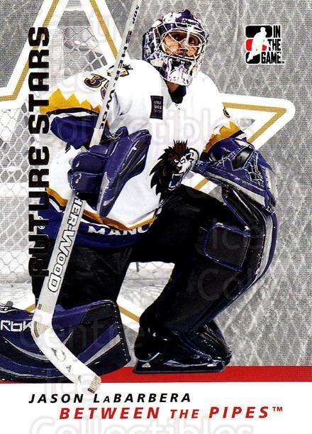 2006-07 Between The Pipes #19 Jason LaBarbera<br/>5 In Stock - $1.00 each - <a href=https://centericecollectibles.foxycart.com/cart?name=2006-07%20Between%20The%20Pipes%20%2319%20Jason%20LaBarbera...&price=$1.00&code=130219 class=foxycart> Buy it now! </a>