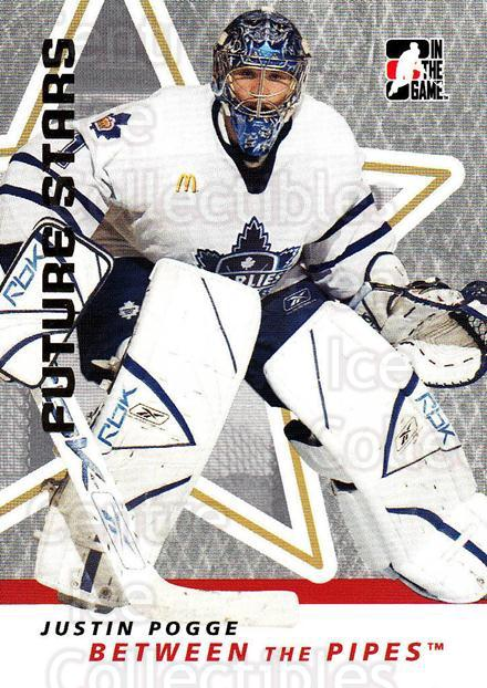 2006-07 Between The Pipes #30 Justin Pogge<br/>5 In Stock - $1.00 each - <a href=https://centericecollectibles.foxycart.com/cart?name=2006-07%20Between%20The%20Pipes%20%2330%20Justin%20Pogge...&price=$1.00&code=130232 class=foxycart> Buy it now! </a>
