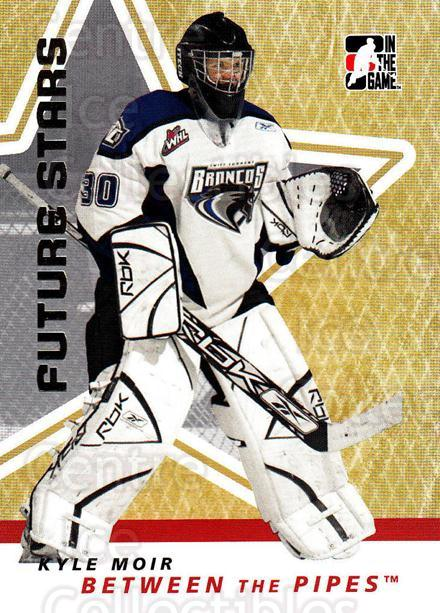 2006-07 Between The Pipes #34 Kyle Moir<br/>5 In Stock - $1.00 each - <a href=https://centericecollectibles.foxycart.com/cart?name=2006-07%20Between%20The%20Pipes%20%2334%20Kyle%20Moir...&price=$1.00&code=130236 class=foxycart> Buy it now! </a>