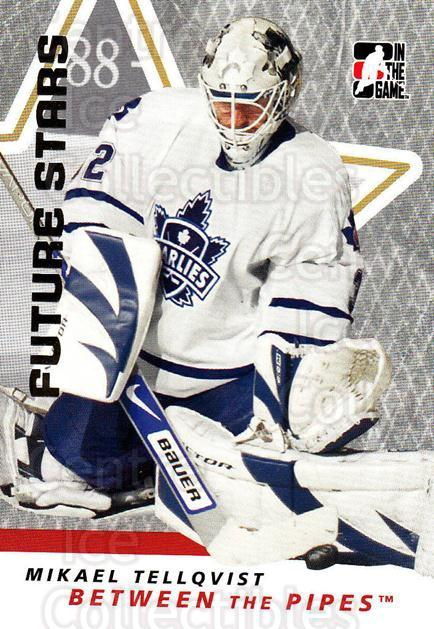2006-07 Between The Pipes #39 Mikael Tellqvist<br/>6 In Stock - $1.00 each - <a href=https://centericecollectibles.foxycart.com/cart?name=2006-07%20Between%20The%20Pipes%20%2339%20Mikael%20Tellqvis...&price=$1.00&code=130241 class=foxycart> Buy it now! </a>