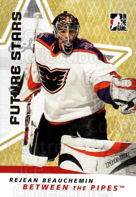 2006-07 Between The Pipes #44 Rejean Beauchemin<br/>5 In Stock - $1.00 each - <a href=https://centericecollectibles.foxycart.com/cart?name=2006-07%20Between%20The%20Pipes%20%2344%20Rejean%20Beauchem...&price=$1.00&code=130247 class=foxycart> Buy it now! </a>